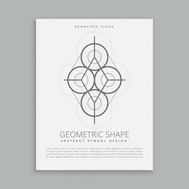 Geometric shape template Vector | Free Download