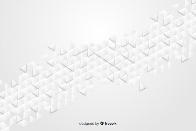 紙のスタイルで幾何学的図形の背景 無料ベクター