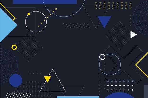 Sfondo di forme geometriche Vettore gratuito