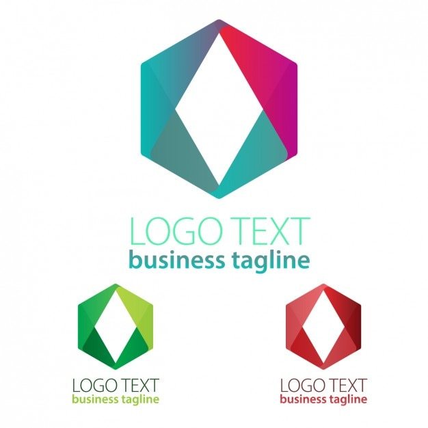Geometric shapes logo Vector | Free Download