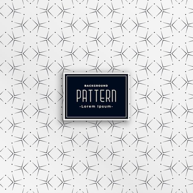 幾何学的な正方形パターン形成星 無料ベクター