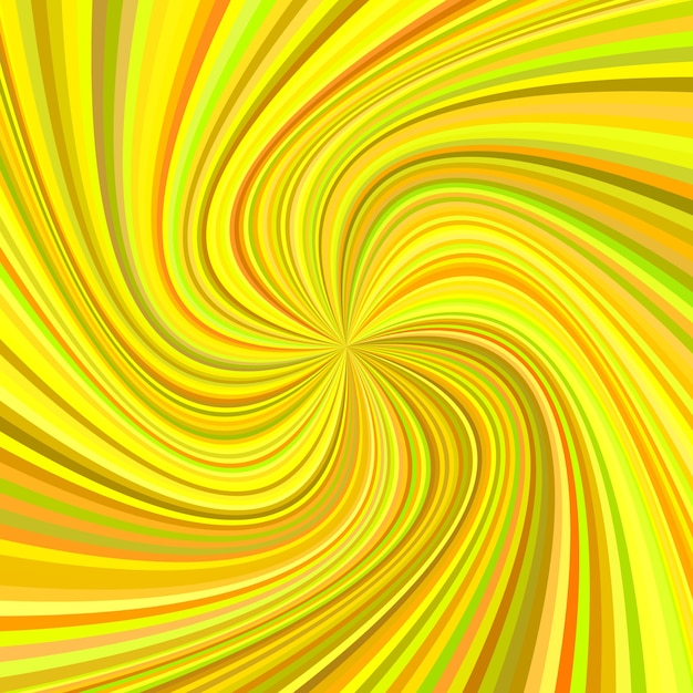 Geometric swirl background - vector illustration from rotated rays in colorful tones Free Vector