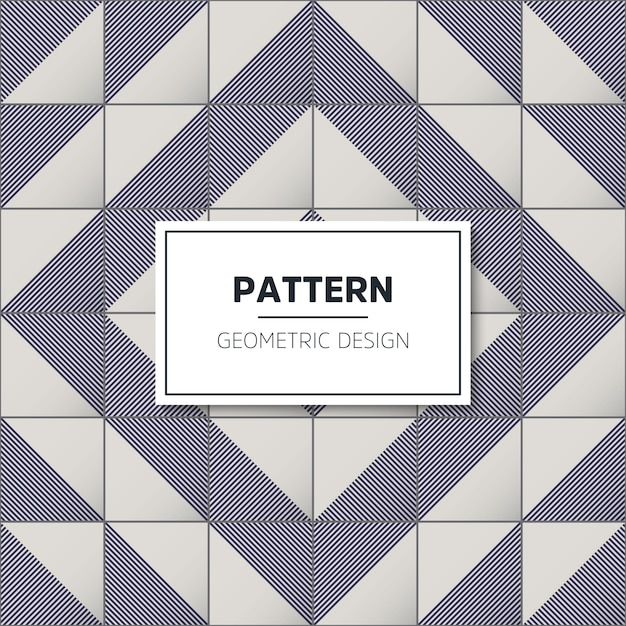 Geometric tile pattern Free Vector