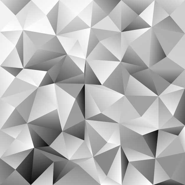 geometric triangle tile pattern background polygon vector graphic