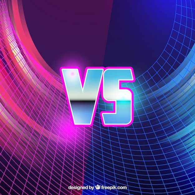 Geometric versus background