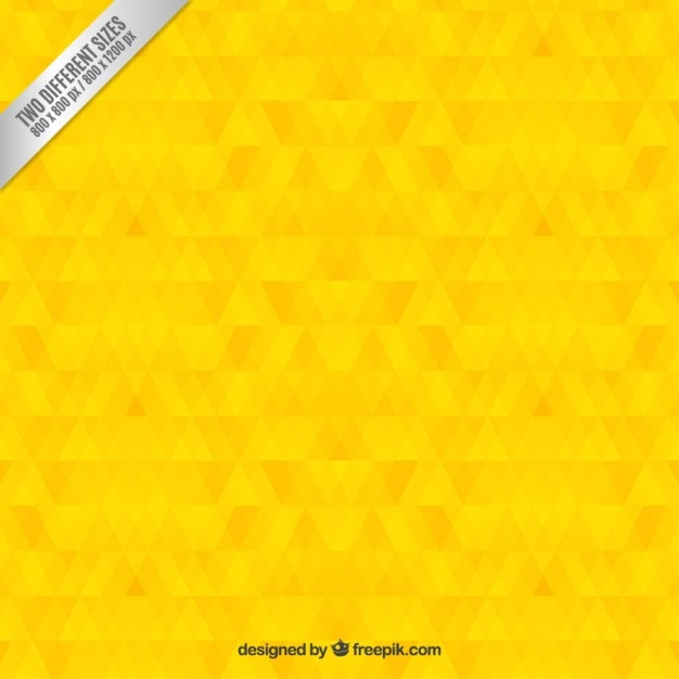 geometric yellow background illustration - photo #27