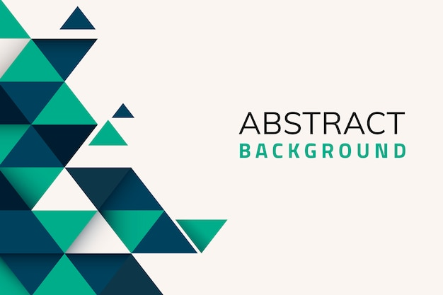 Geometrical abstract background Free Vector