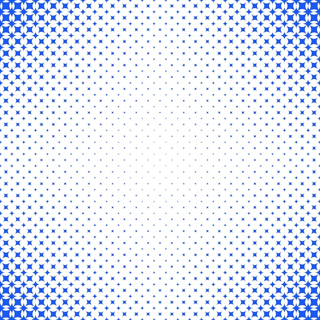 Geometrical Abstract Halftone Star Pattern Background