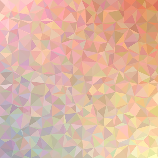 Geometrical abstract irregular triangle background - polygon vector illustration from colorful triangles