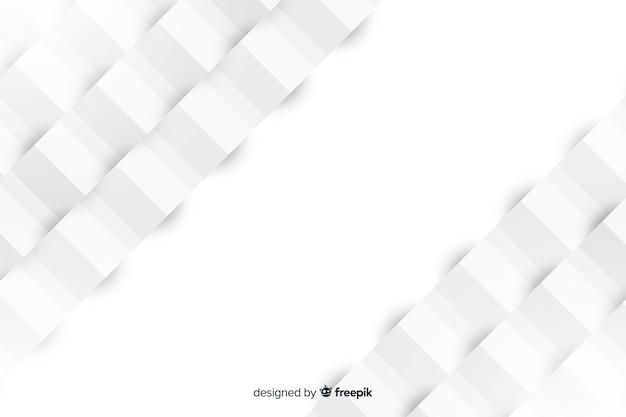 Geometrical background in paper style Free Vector