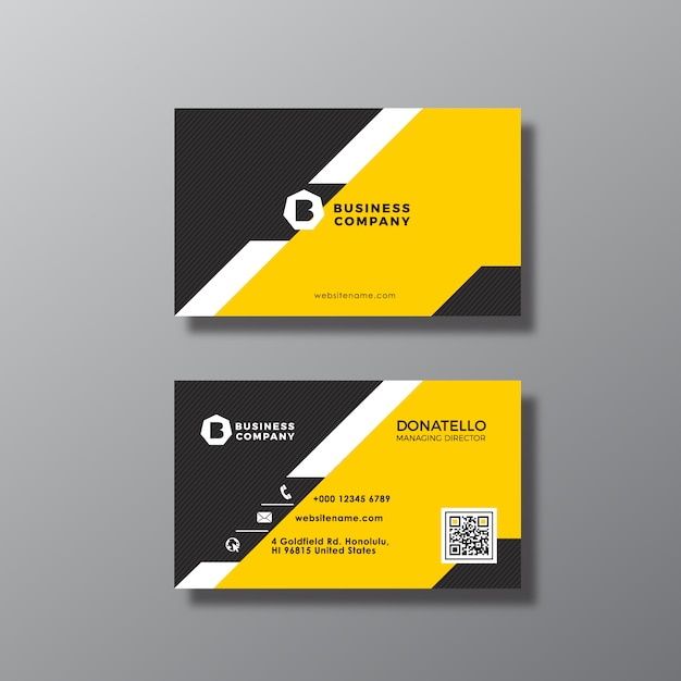 Geometrical business card design vector free download geometrical business card design free vector reheart Images