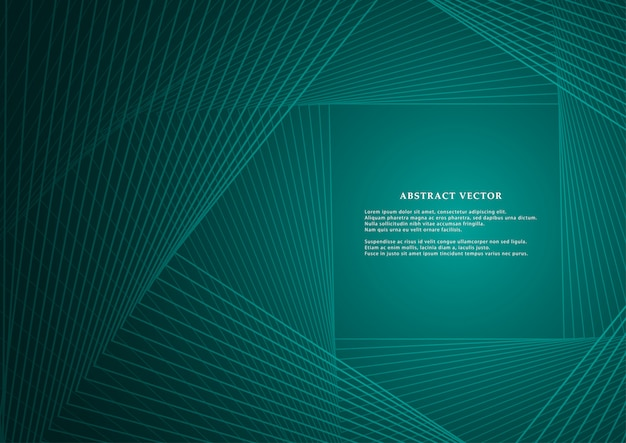 Geometrical lines for backdrop. Premium Vector