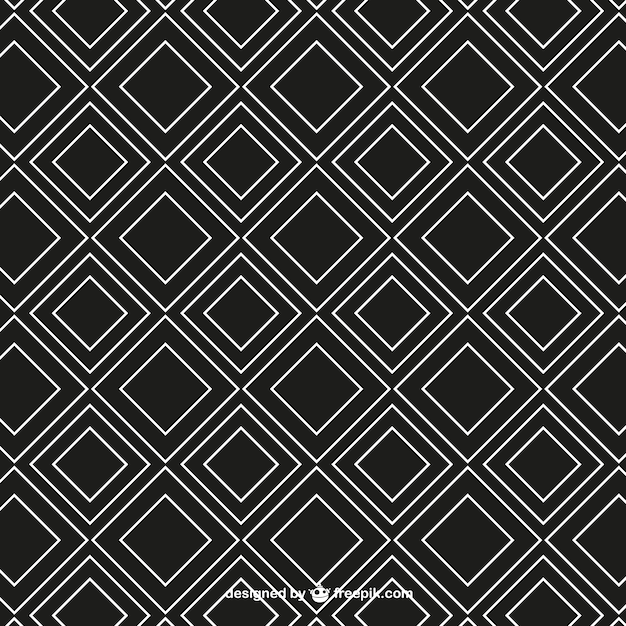 Geometry seamless pattern Free Vector