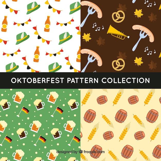 German celebration pattern collection