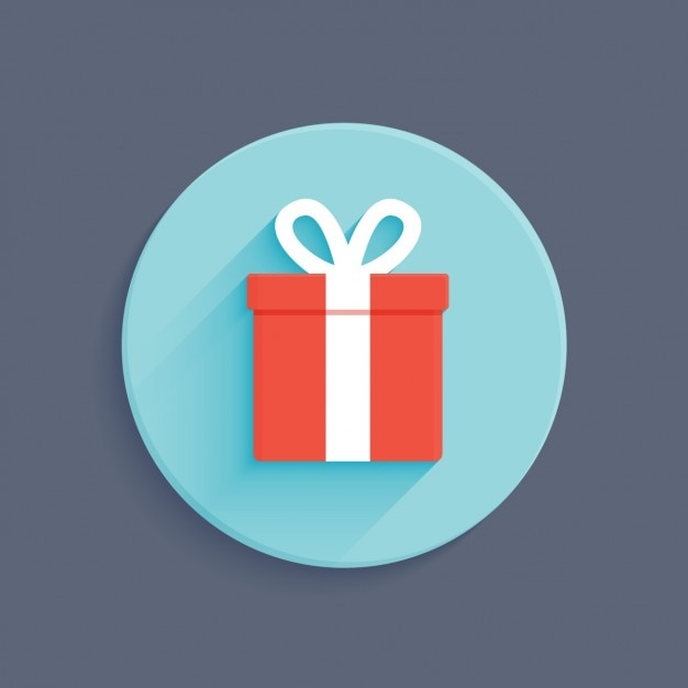 Gift box flat design vector free download gift box flat design free vector negle Gallery
