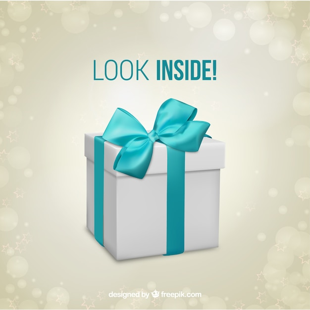 Gift box surprise template Vector – Template for Gift Box