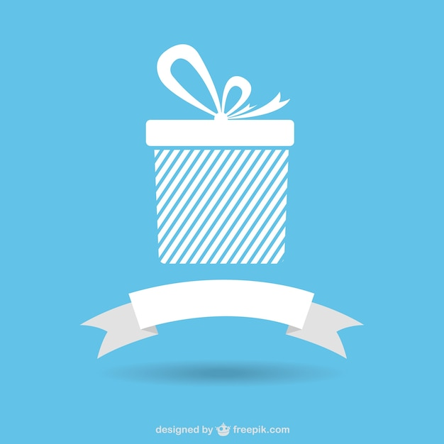 Gift icons with ribbon banner vector free download gift icons with ribbon banner free vector negle