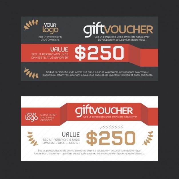 design gift vouchers free