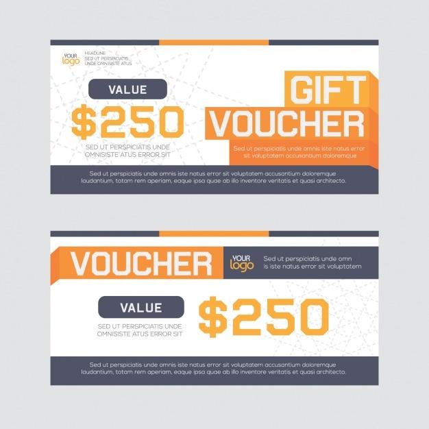 Gift voucher design Vector – Voucher Design
