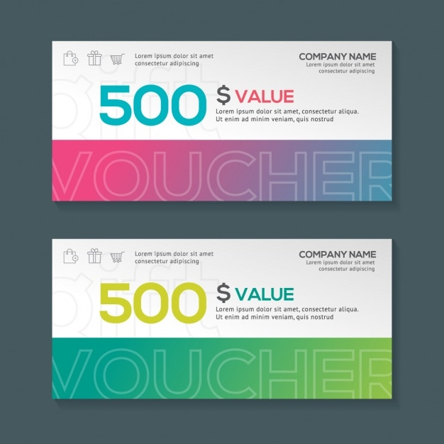 Gift voucher design vector free download gift voucher design free vector negle Images