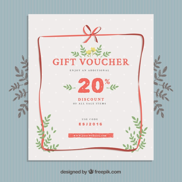 Gift voucher poster vector free download gift voucher poster free vector negle Images