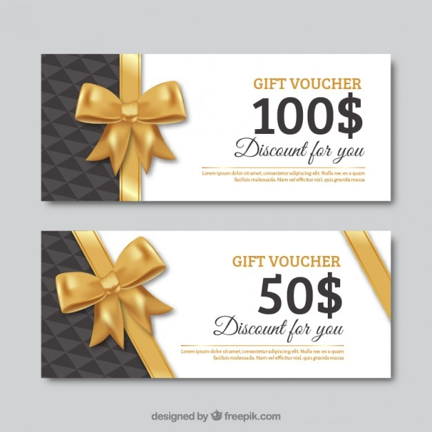 Food Gift Certificate Template