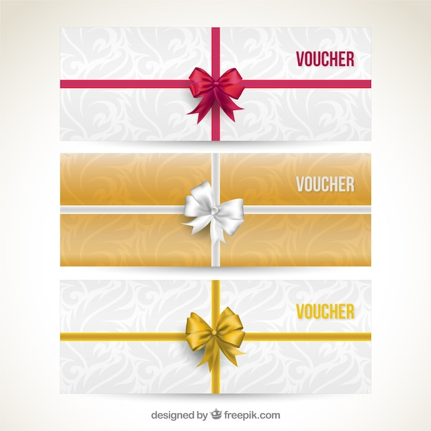 Gift vouchers vector free download gift vouchers free vector yadclub Gallery