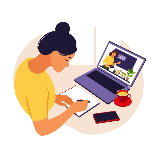 девушка модель обучения с веб поддержкой