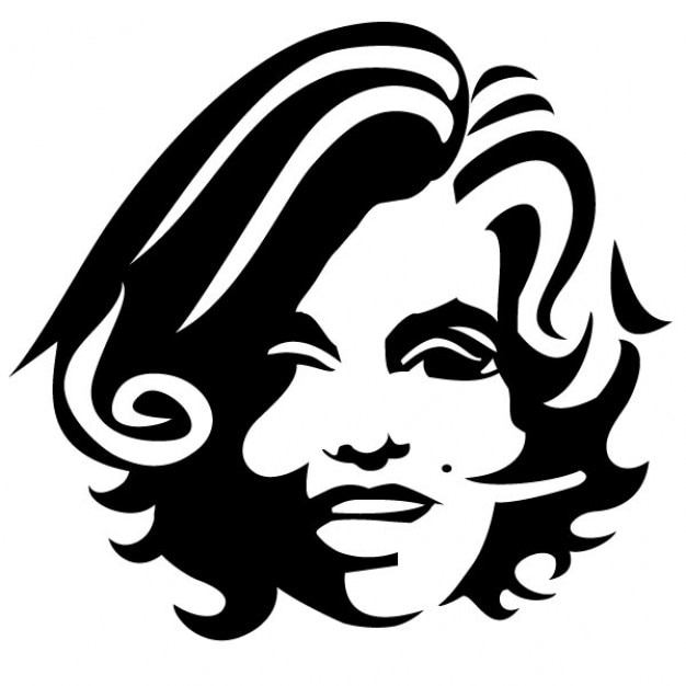 Girl With Curly Hair Vector Illustration Vector Free Download - Girl hairstyle vector free download