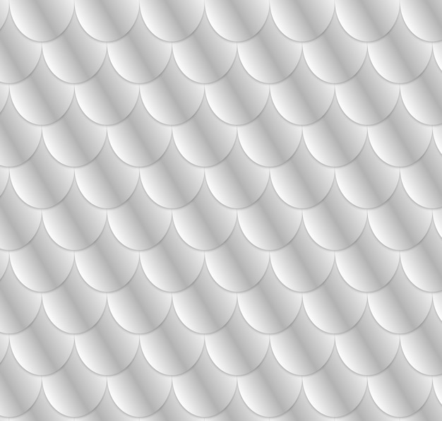 Girlish fish scale pattern. Premium Vector