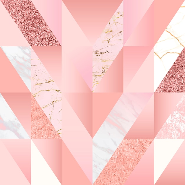Girly pink background Free Vector