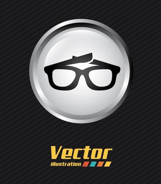 Glasses Free Vector