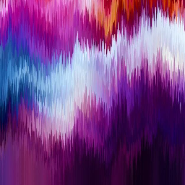 Sfondo glitch. distorsione dei dati delle immagini digitali. Vettore gratuito