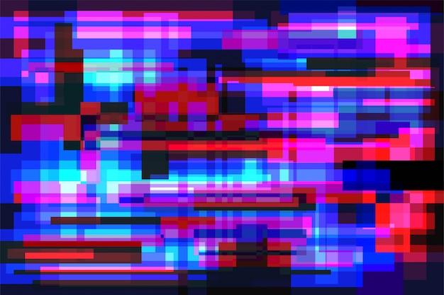 Glitch background vector Premium Vector