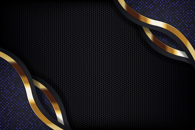 Glitter background light with abstract color modern technology Premium Vector