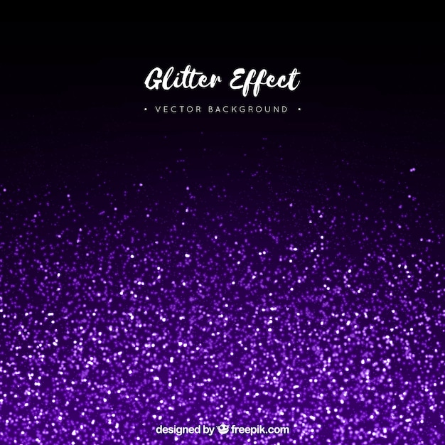 Glitter effect background Vector | Free Download