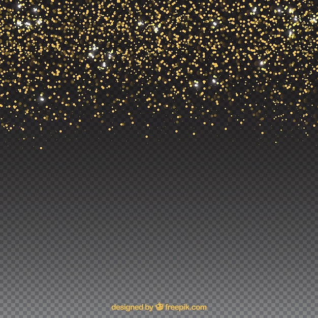 Glitter Particles Background With Space On Bottom Free Vector