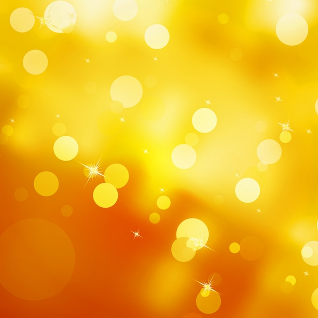 Glittery gold christmas background. Premium Vector
