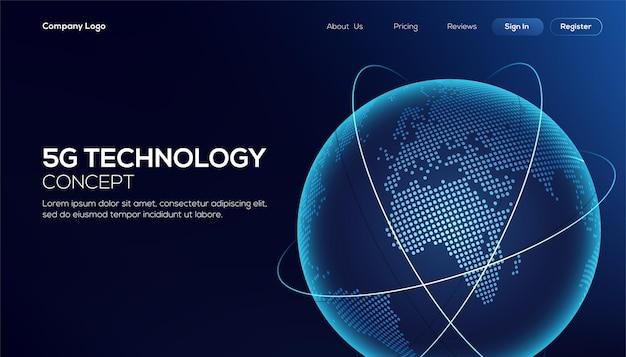 Подключение к глобальной сети Premium векторы