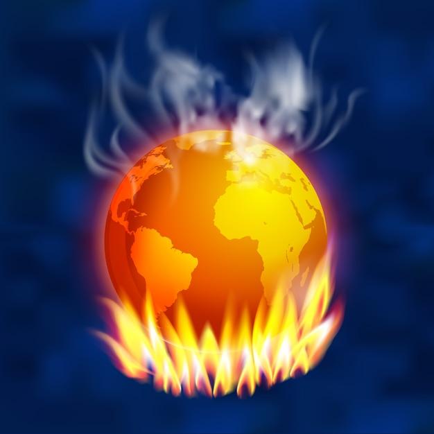 Global warming Premium Vector