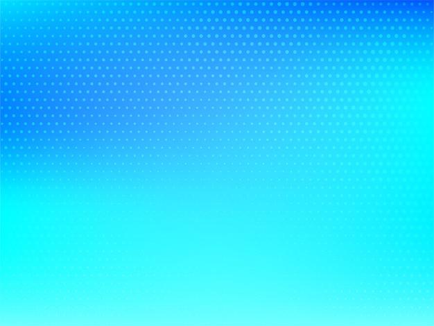 光沢のある青いハーフトーンのビジネス背景 無料ベクター
