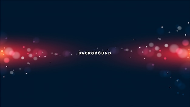 Glowing lights abstract background Premium Vector