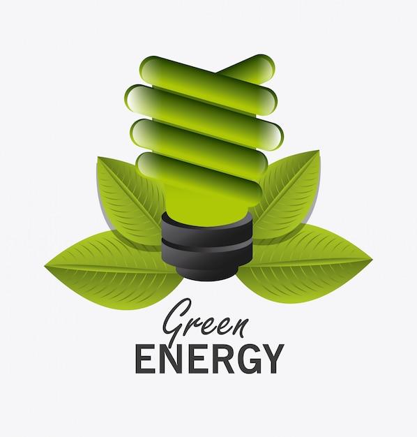 Go green ecology design. Free Vector