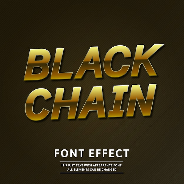 Gold 3d luxury text effect rotated stylish glossy Premium Vector
