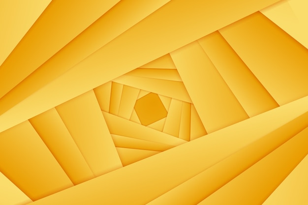 Gold background with abstract lines Free Vector