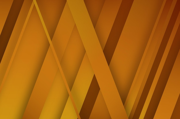 Gold background with oblique lines Free Vector