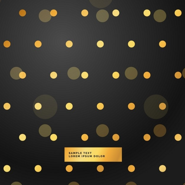 gold dots on a black background vector free download vector polka dot pattern vector polka dot pattern free