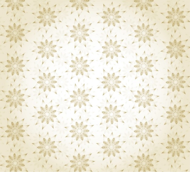 Gold Floral Wallpaper Free Vector