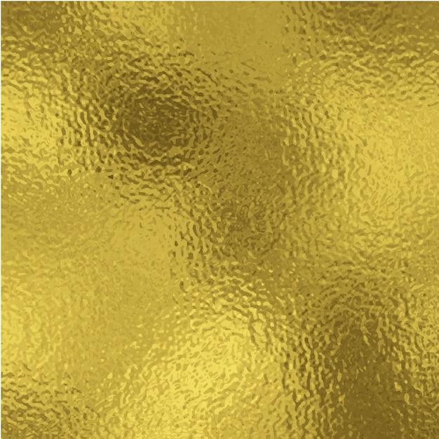 Gold foil background. Premium Vector