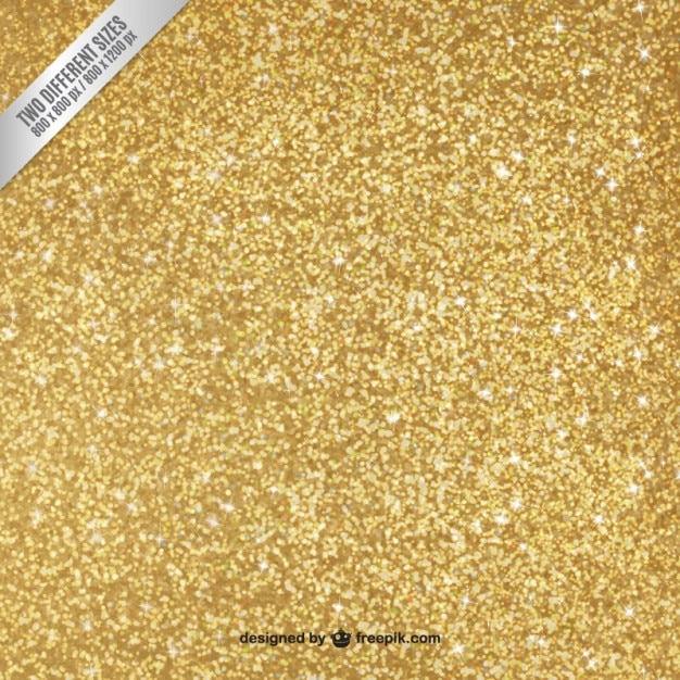 Gold glitter background Premium Vector